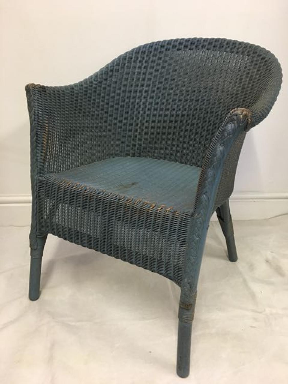 Lloyd Loom Chair with original paint