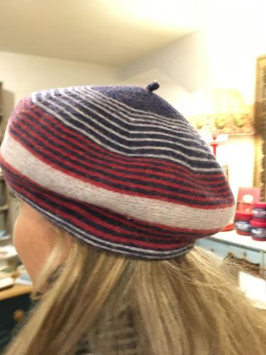 Felted wool berets