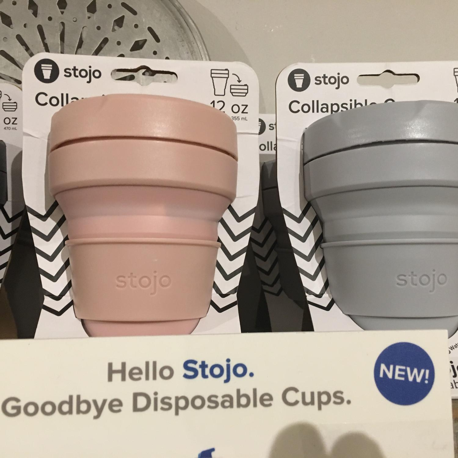 Re-usable and collapsible cups