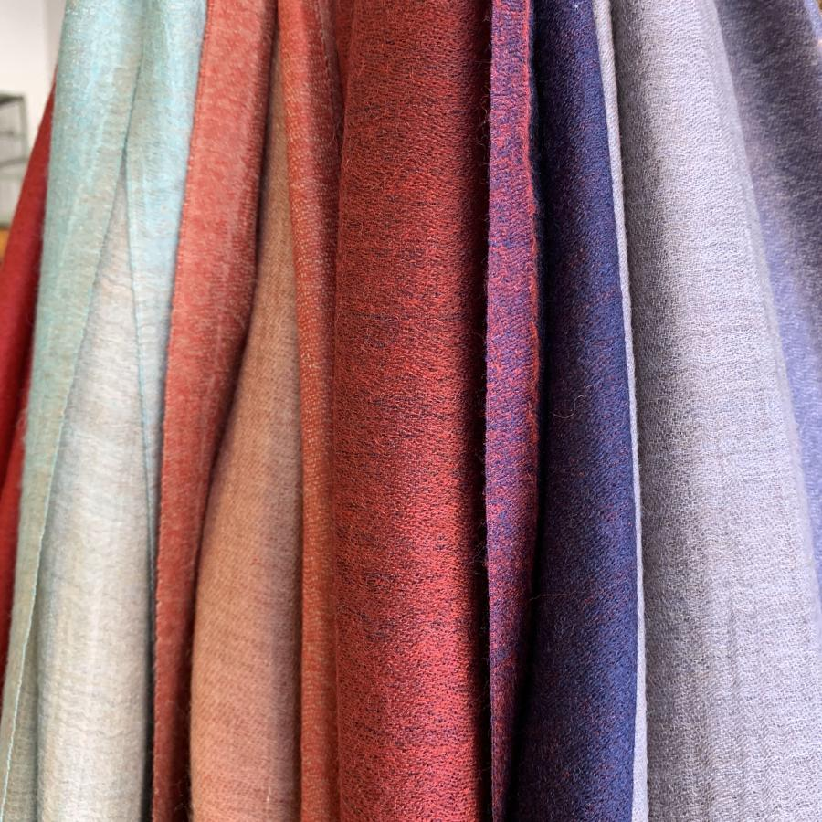Handwoven fine wool scarves new delivery