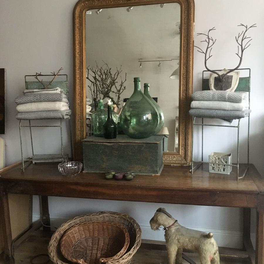Large 19th Century French mirror