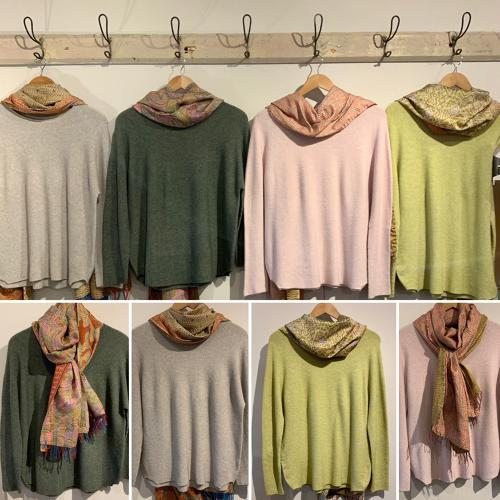 Super soft jumpers in lots of lovely colours