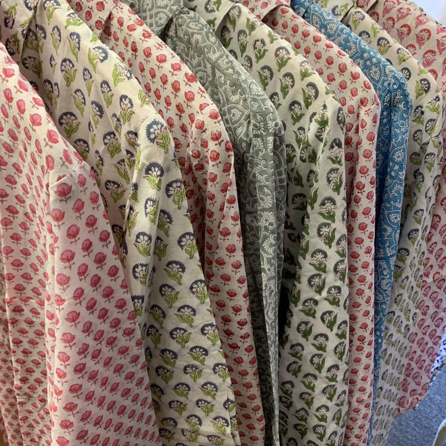 Fine cotton shirts