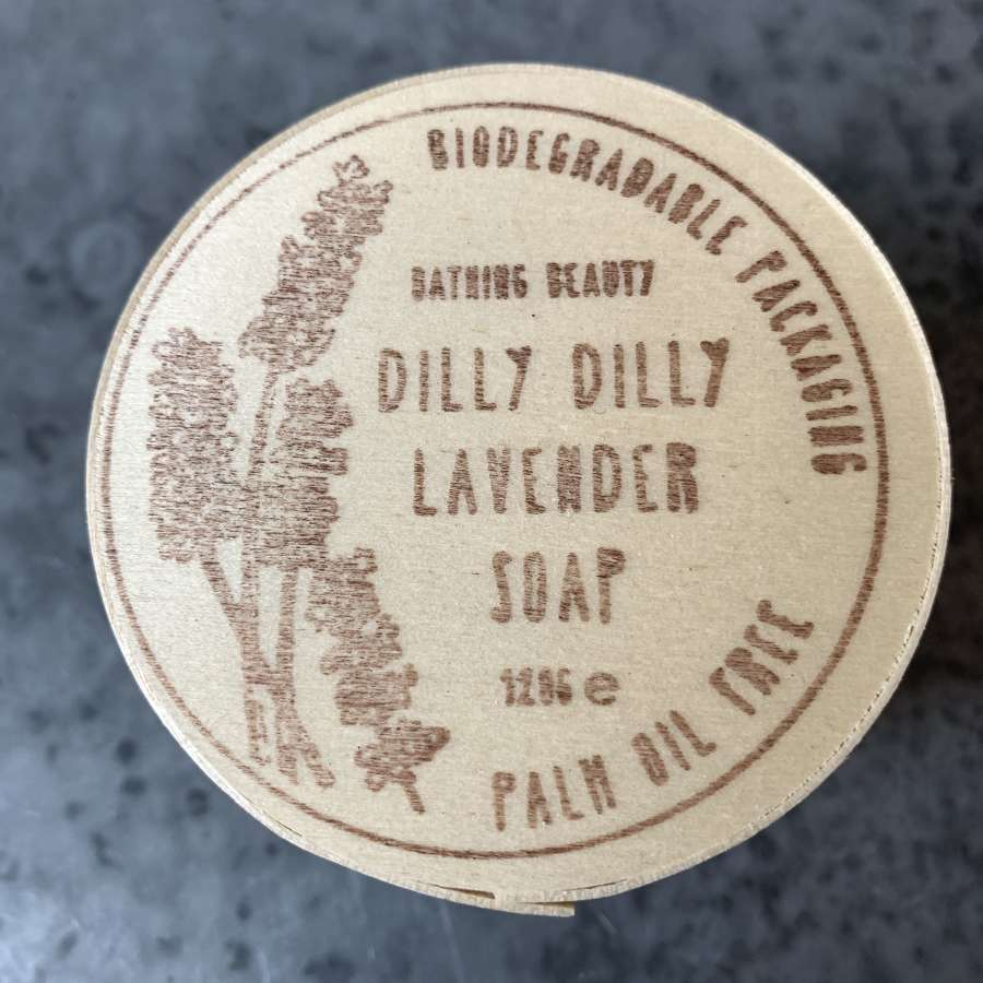 Bathing Beauty Dilly Dilly Lavender Soap