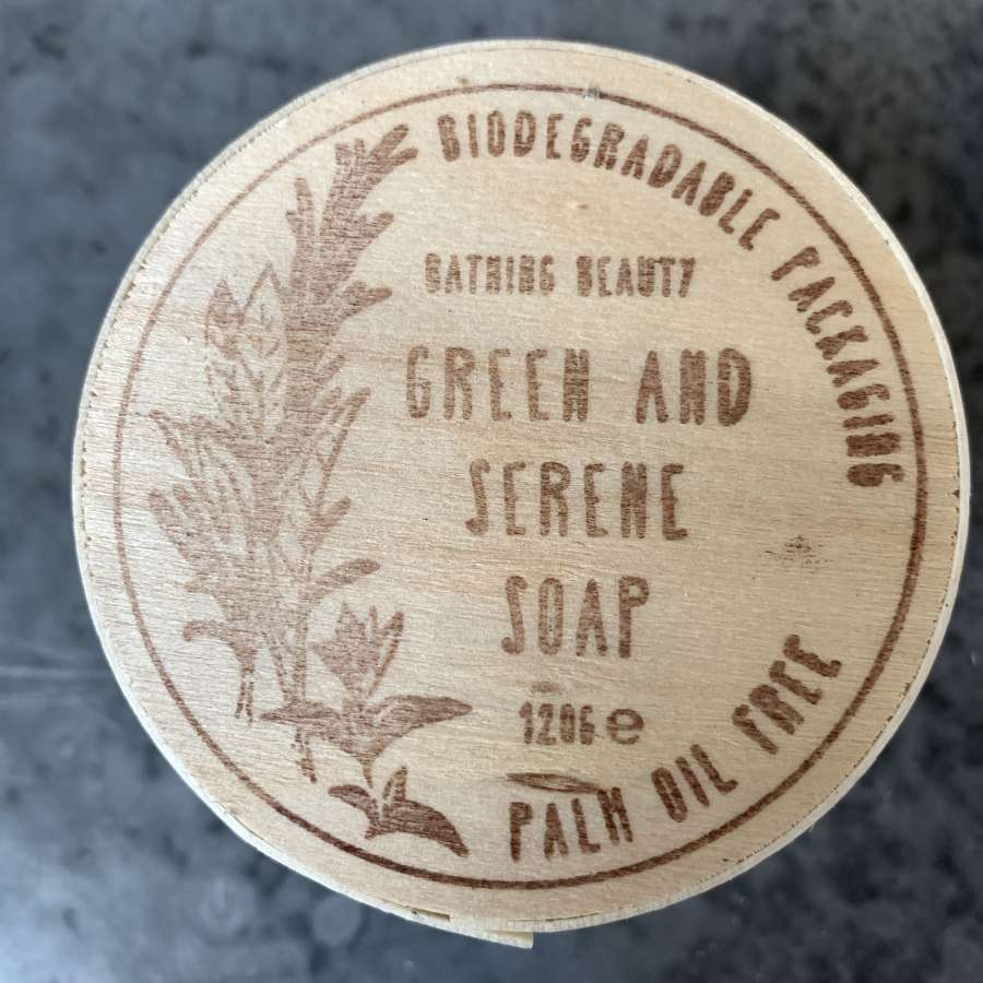 Bathing Beauty Green and Serene Soap