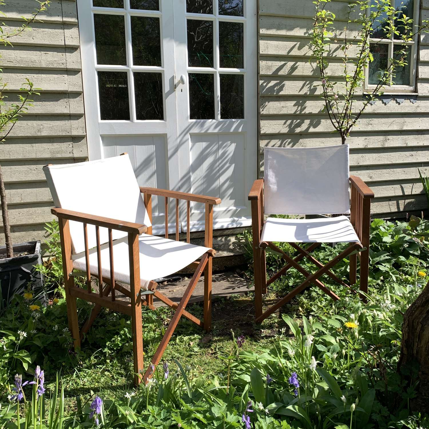 Pre loved Habitat Directors Chairs