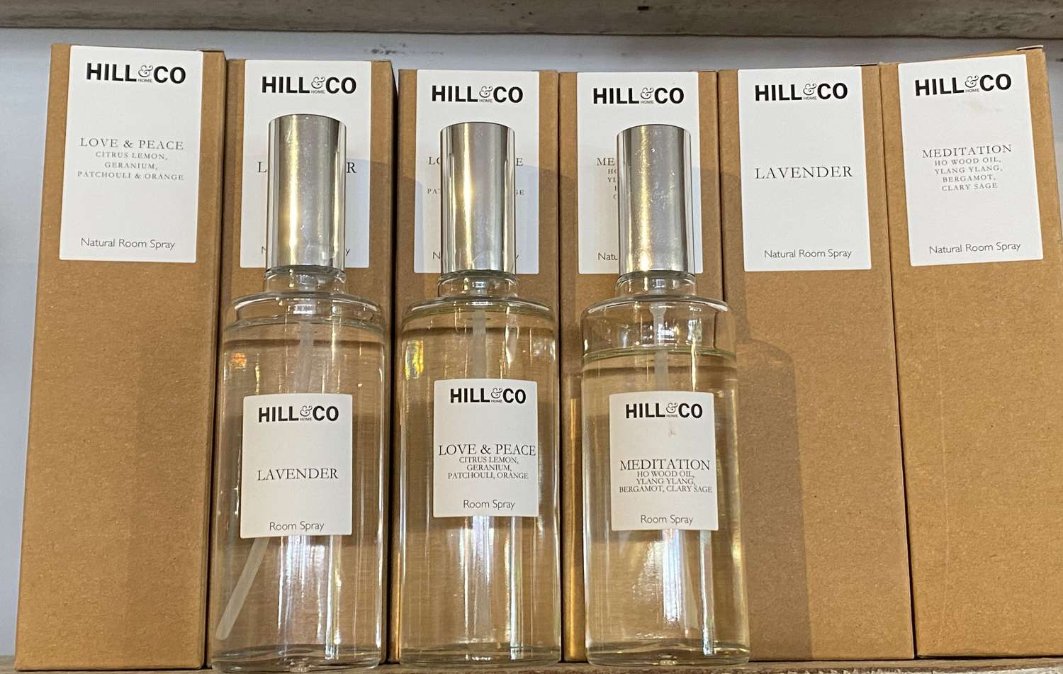 Hill & Co Room & Pillow Sprays