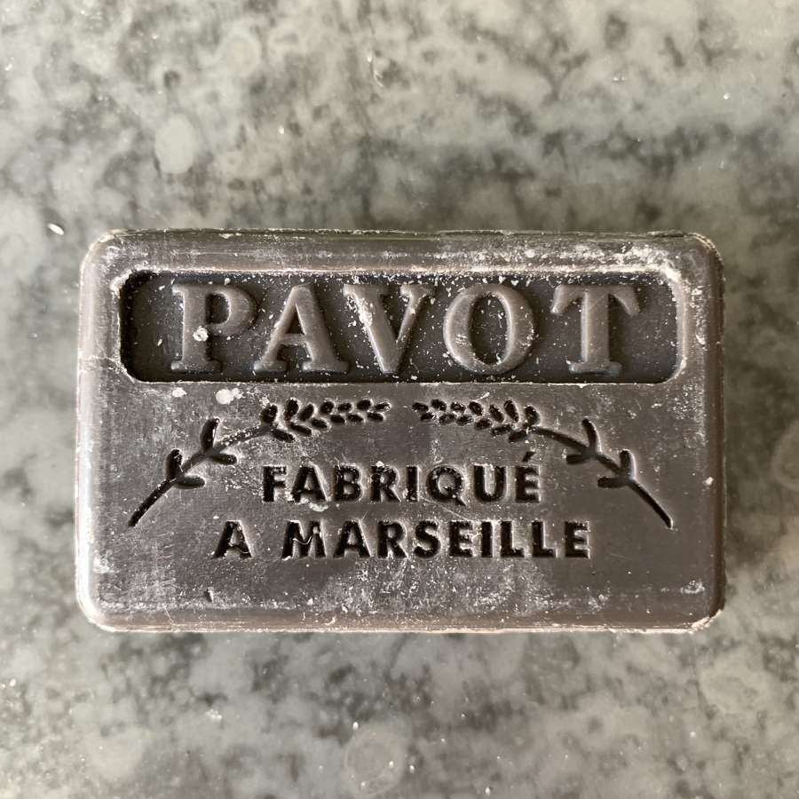 Savon de Marseille Pavot (black poppy seeds)