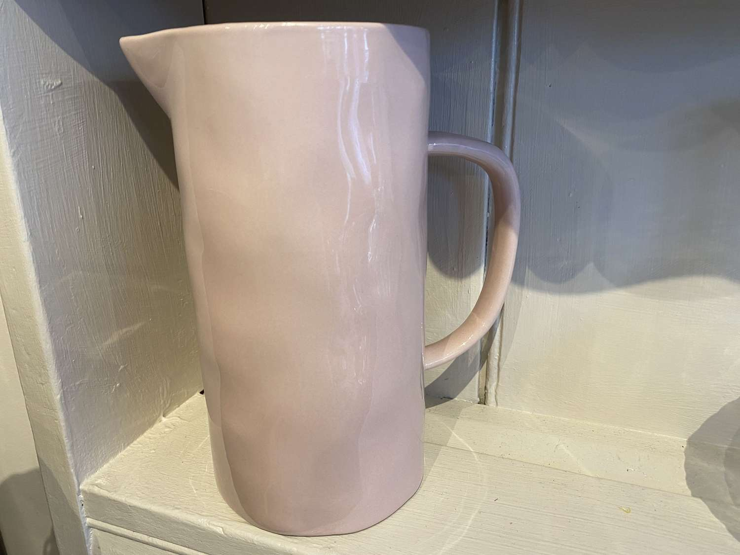 Large ceramic jug - Pale Pink