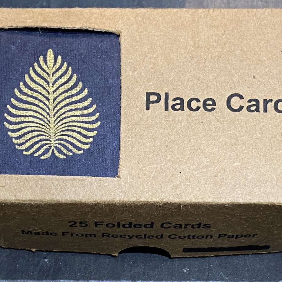 Place cards (Navy)