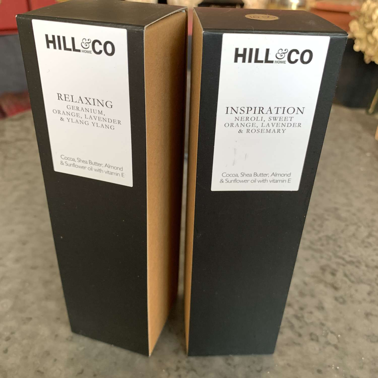 Hill & Co handcream with essential oils