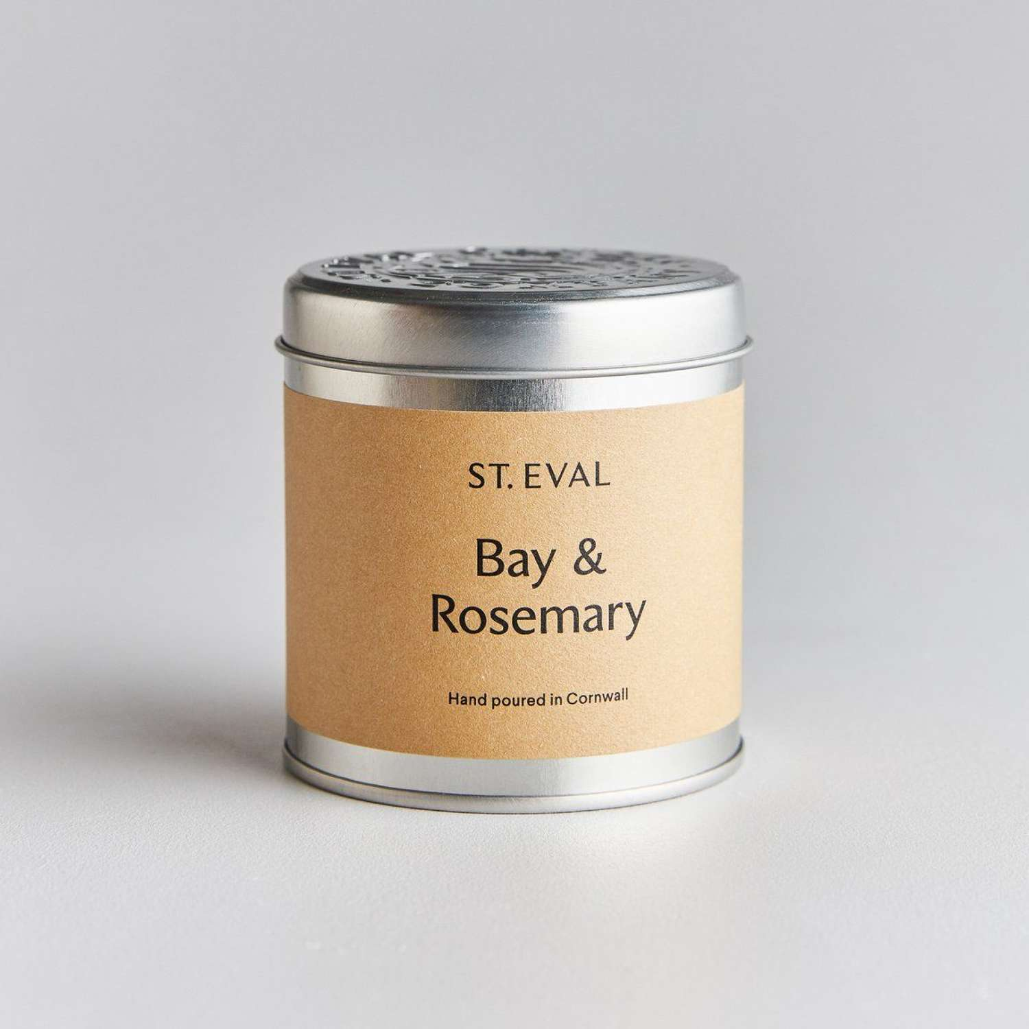Bay & Rosemary tin scented candle