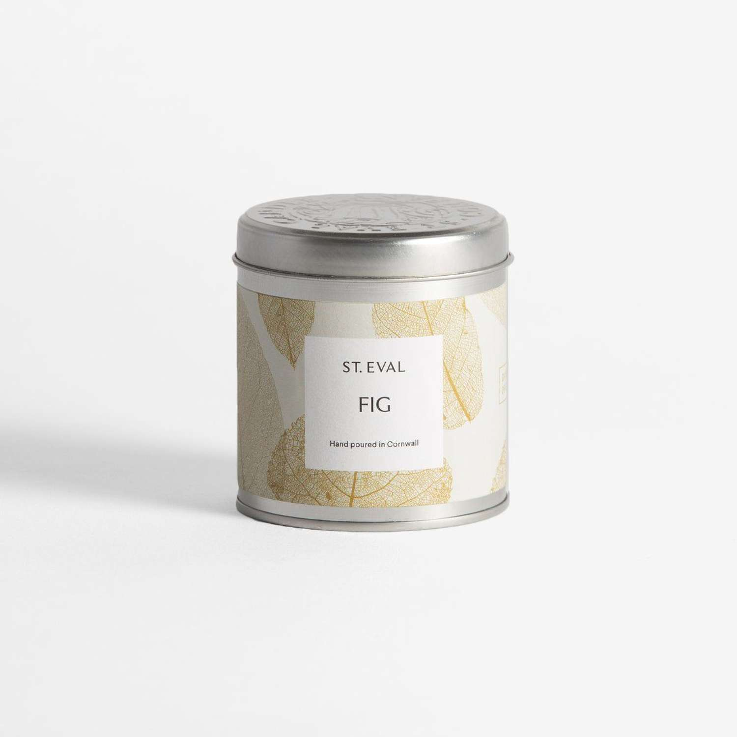 Fig Eden tin scented candle