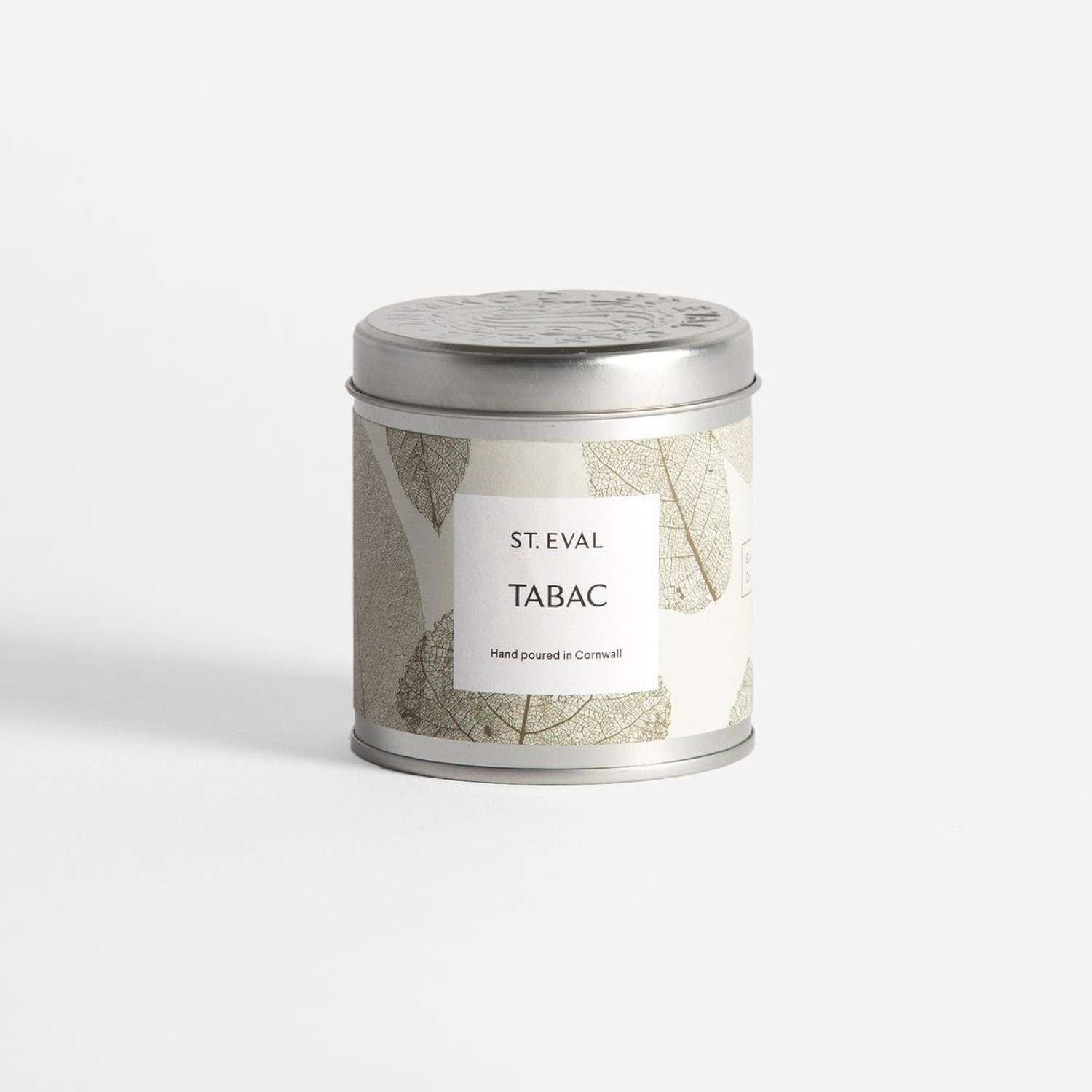 Tabac Eden scented tin candle