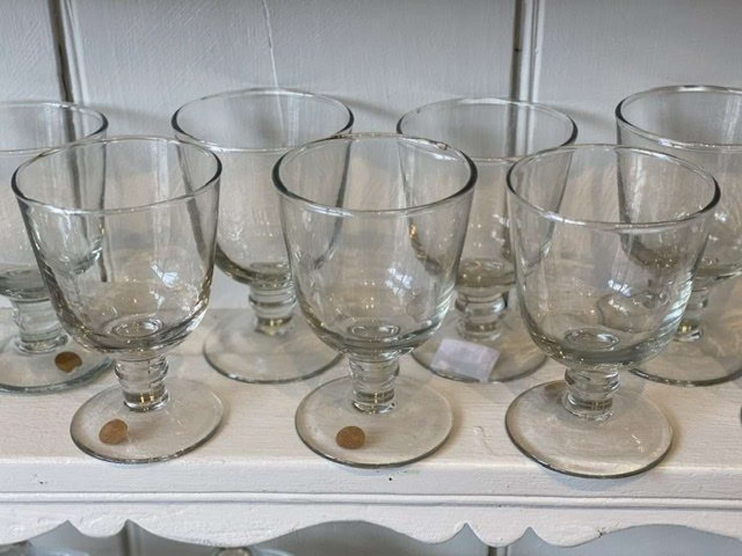 Short stem wine glass
