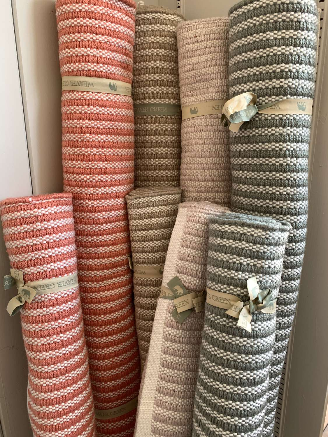 Weaver Green Rugs made from recycled plastic