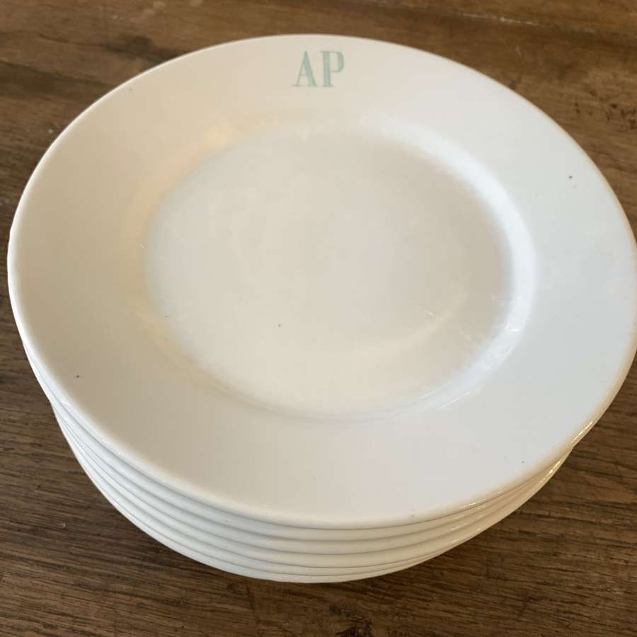 French 7inch plates