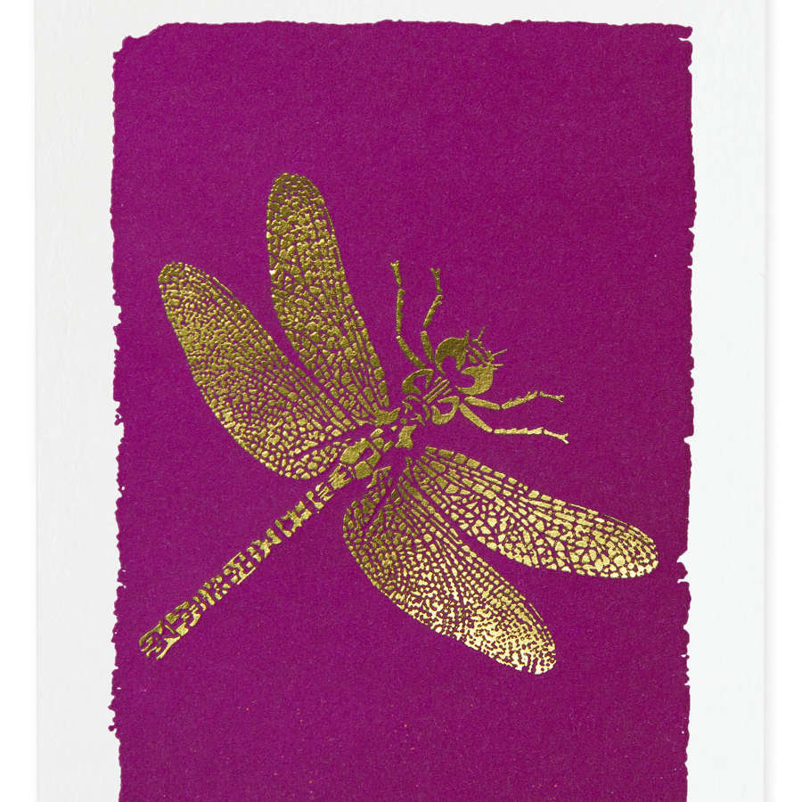 Gold embossed notecards