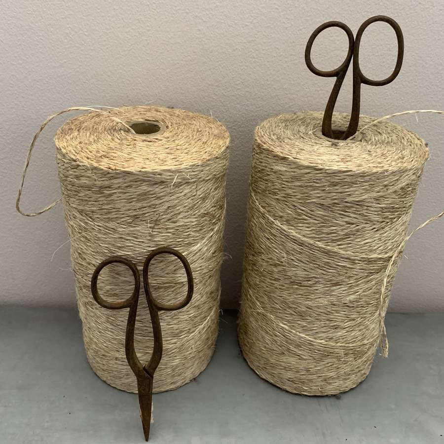 A lifetime of twine !
