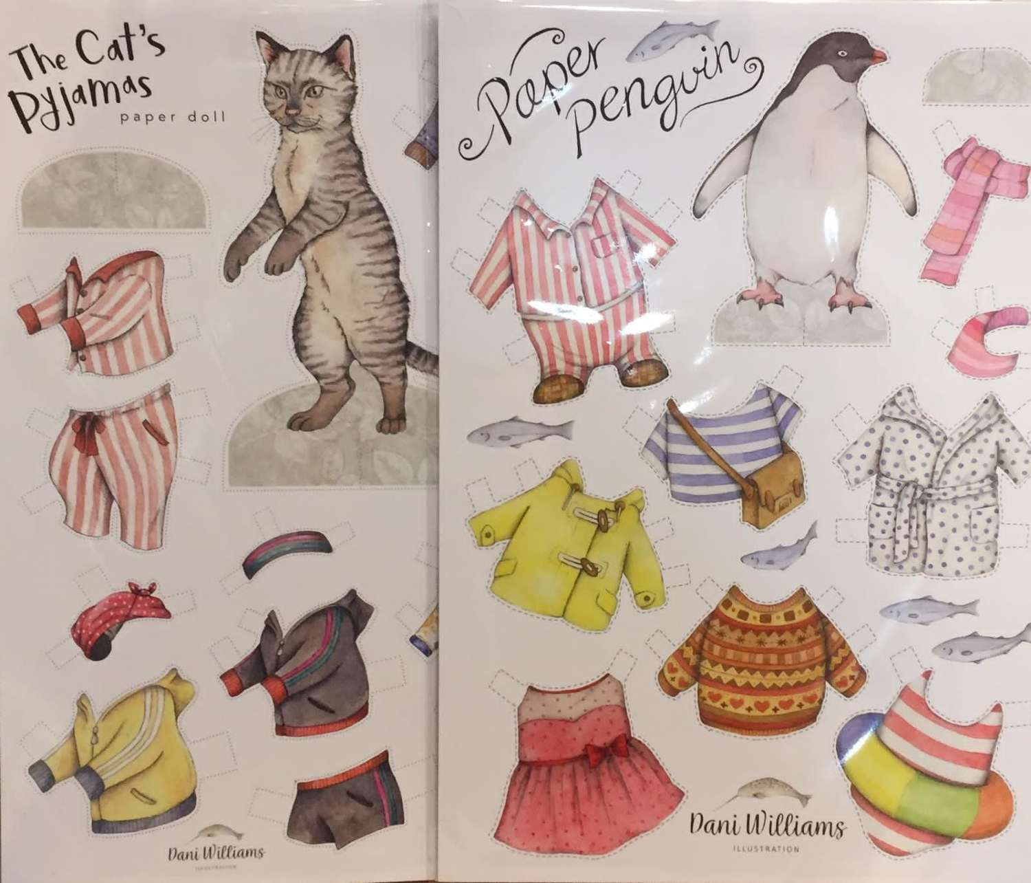 Fun cut-out and dress up animals