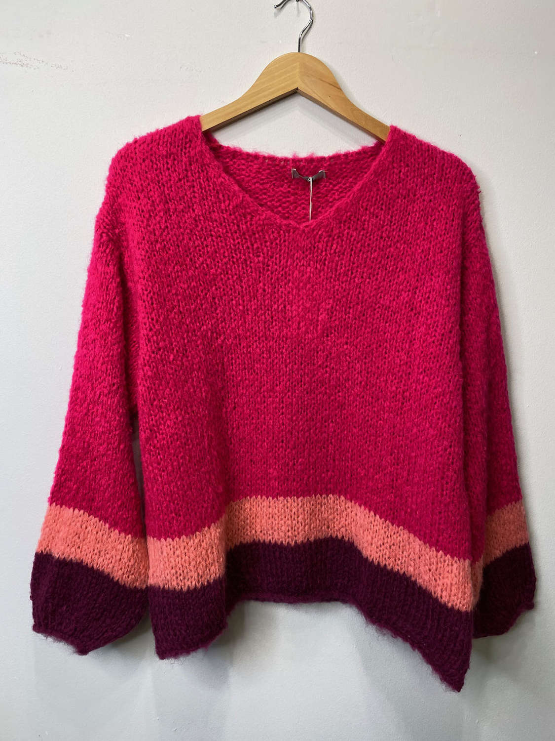 Super soft cosy loose fit jumper