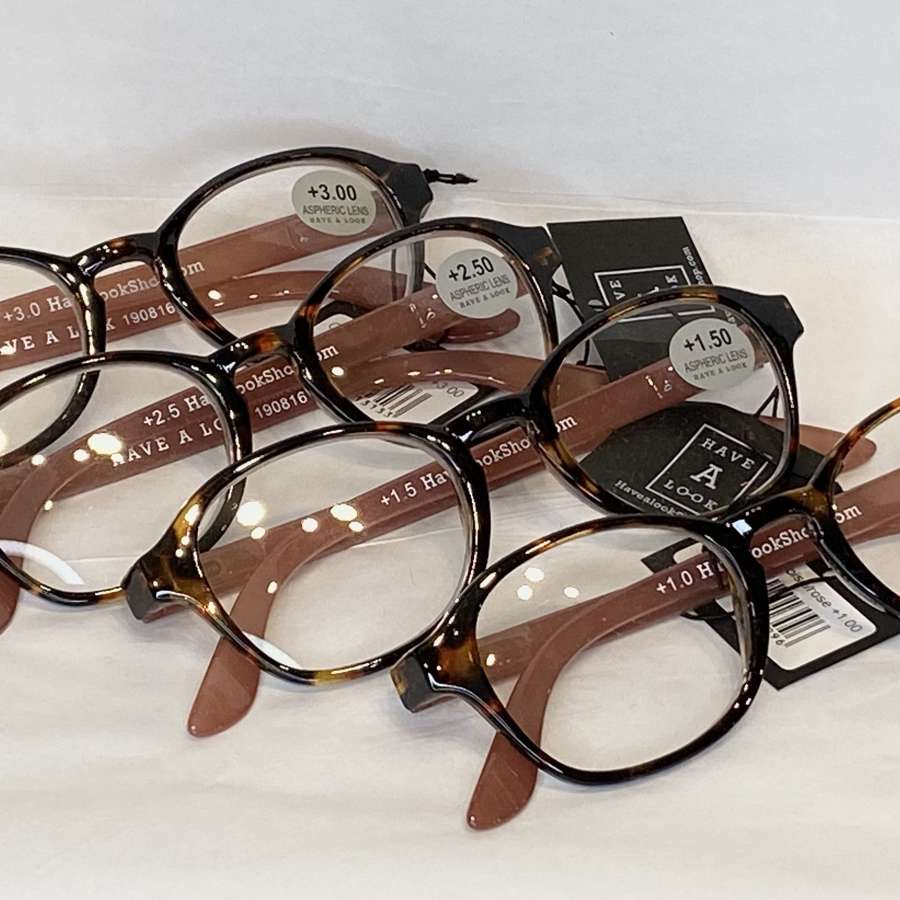 Reading Glasses - Tortoiseshell and brown