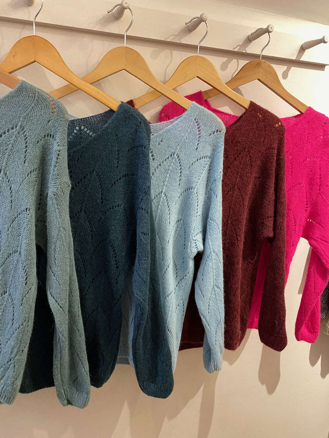 Super soft Alpaca mix jumpers - choice of colours