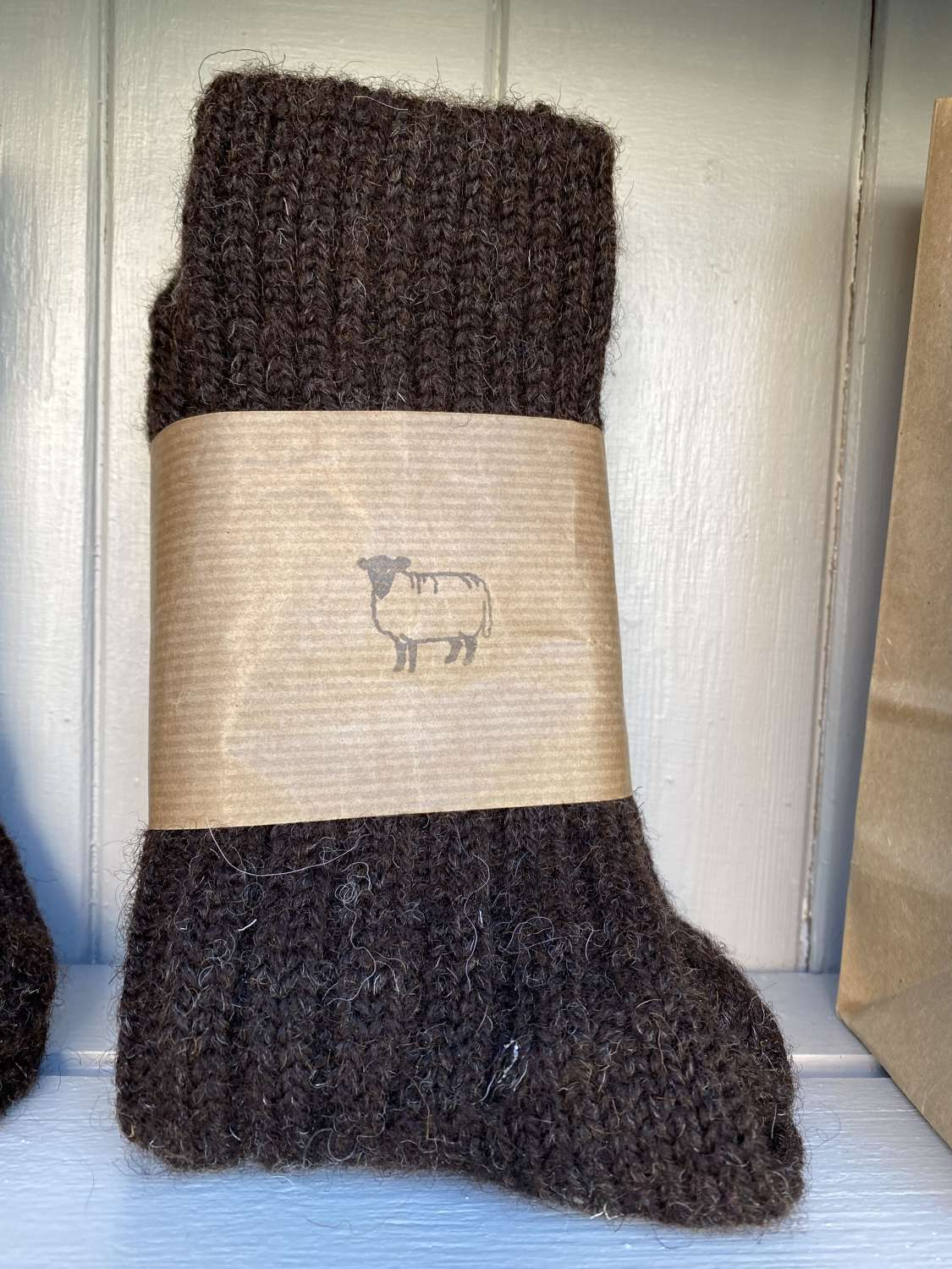 Pure wool socks - made in Ireland
