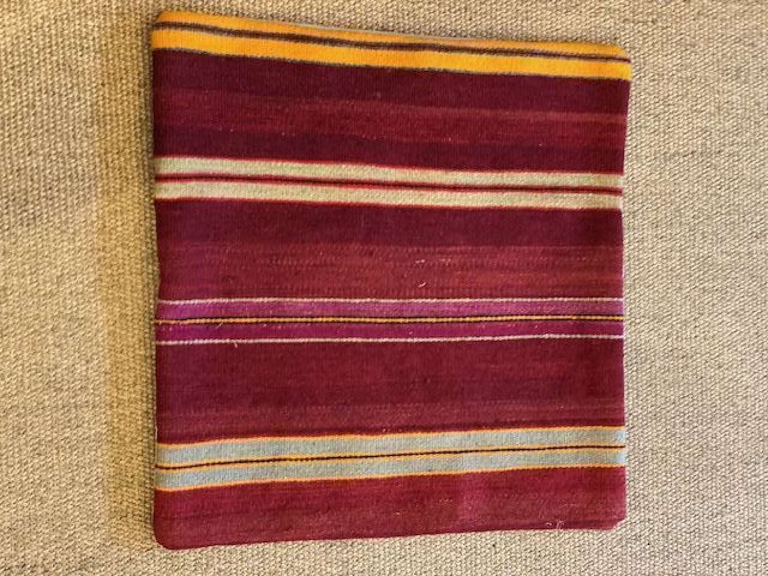 Turkish  kilim cushion 18ins x 18 ins